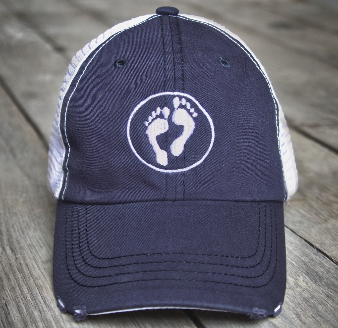 Running Raw Logo Hat